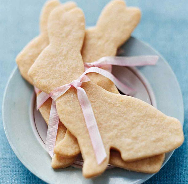 Home made bunny cookies